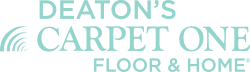 Deaton's Carpet One Floor and Home Logo